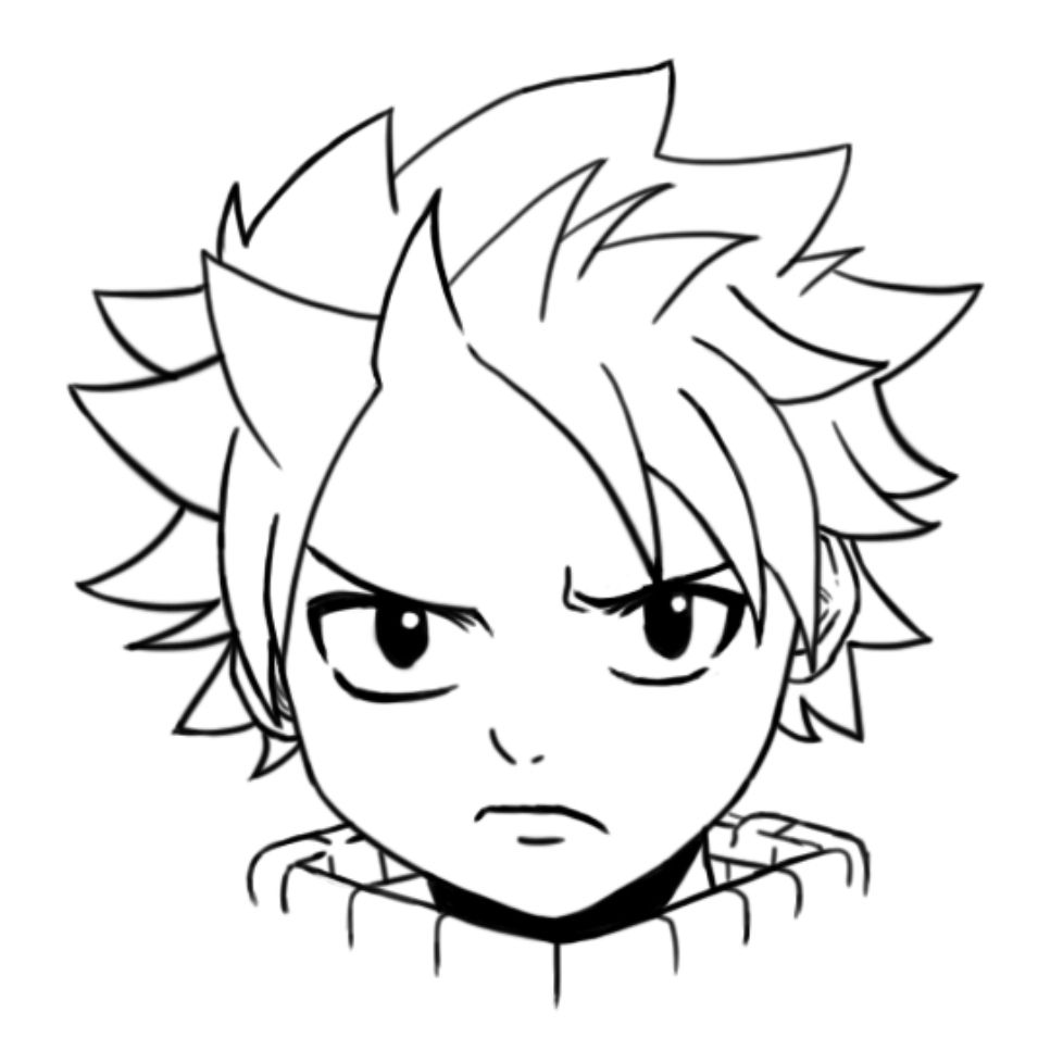 I Drew Natsu If You Know Who This Is Then Good On Ya Ajd3527 Anime Character Drawing Anime Drawings Anime Drawings For Beginners