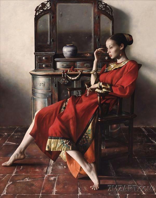 Lu Jianjun ChinaOil painting artist