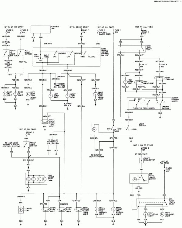 10 1996 Isuzu Trooper Electric Seat Wiring Diagram Wiring Diagram Wiringg Net In 2020 Repair Guide Automotive Repair Honda Accord