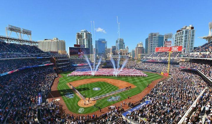 Petco Park San Diego Padres Ballpark Ballparks Of Baseball Petco Park San Diego Padres Baseball Stadium