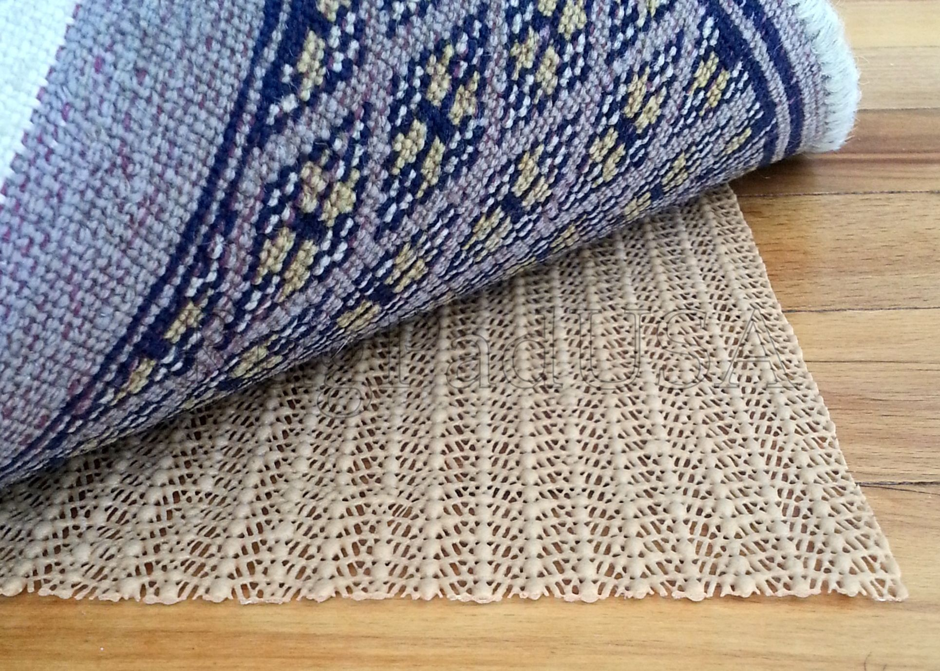 Sketch Of Feeling Warm And Comfortable With Best Rug Pads For - Vinyl rug pads for hardwood floors