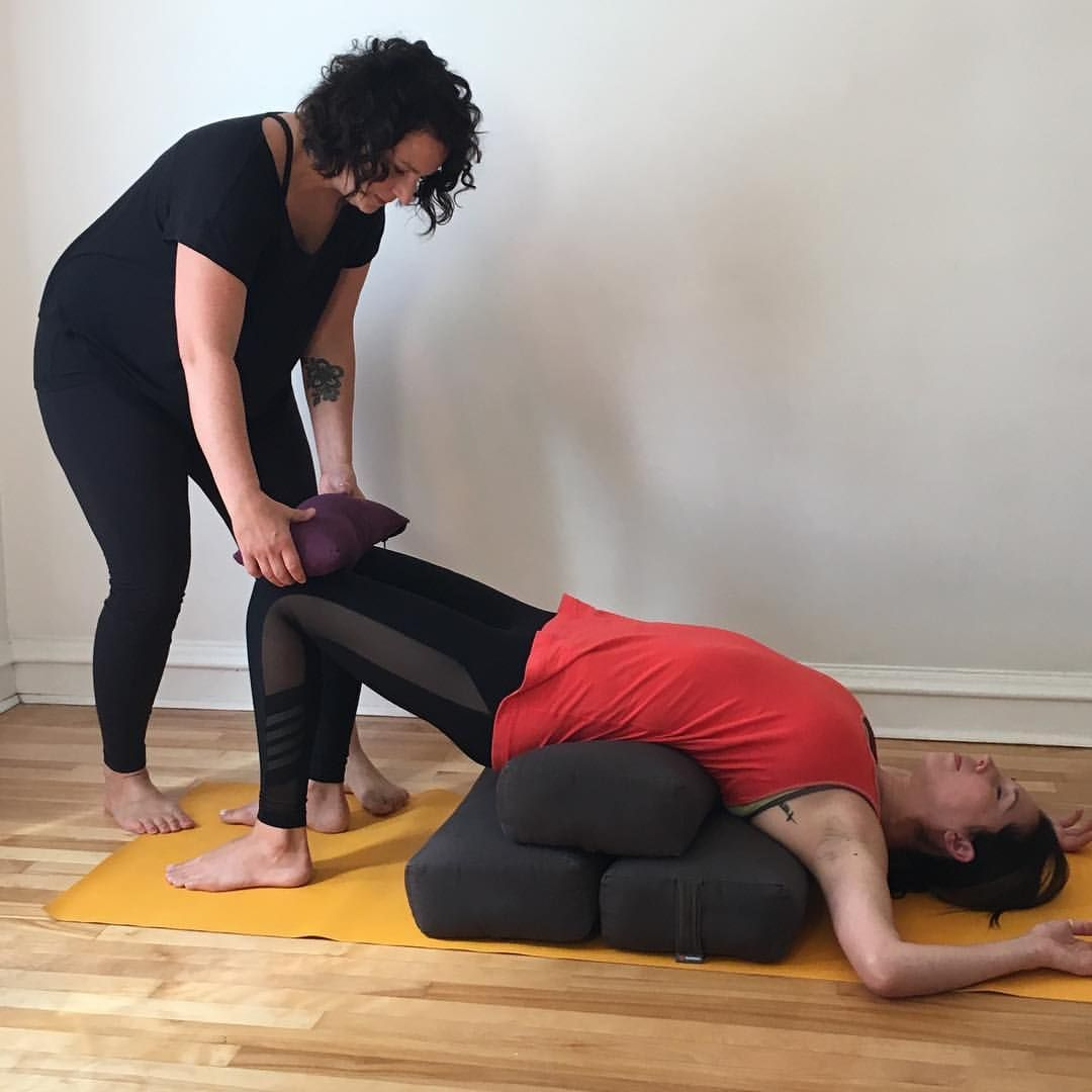 Explore Restorative Yoga beyond the basics @pranashantiyoga