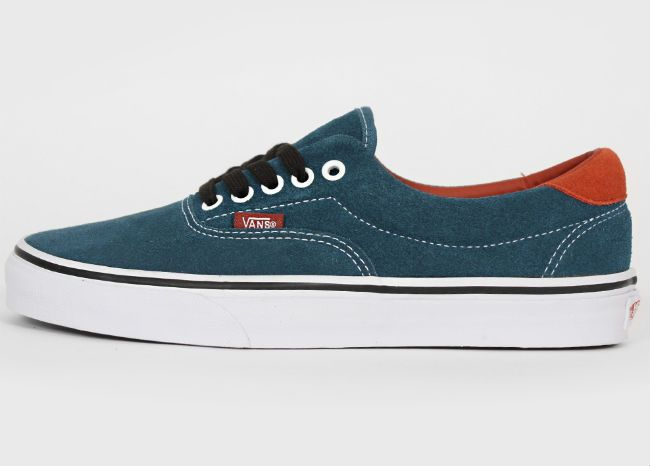 3b19bfc2867422 Vans Era 59 Earthtone Suede Indian Teal