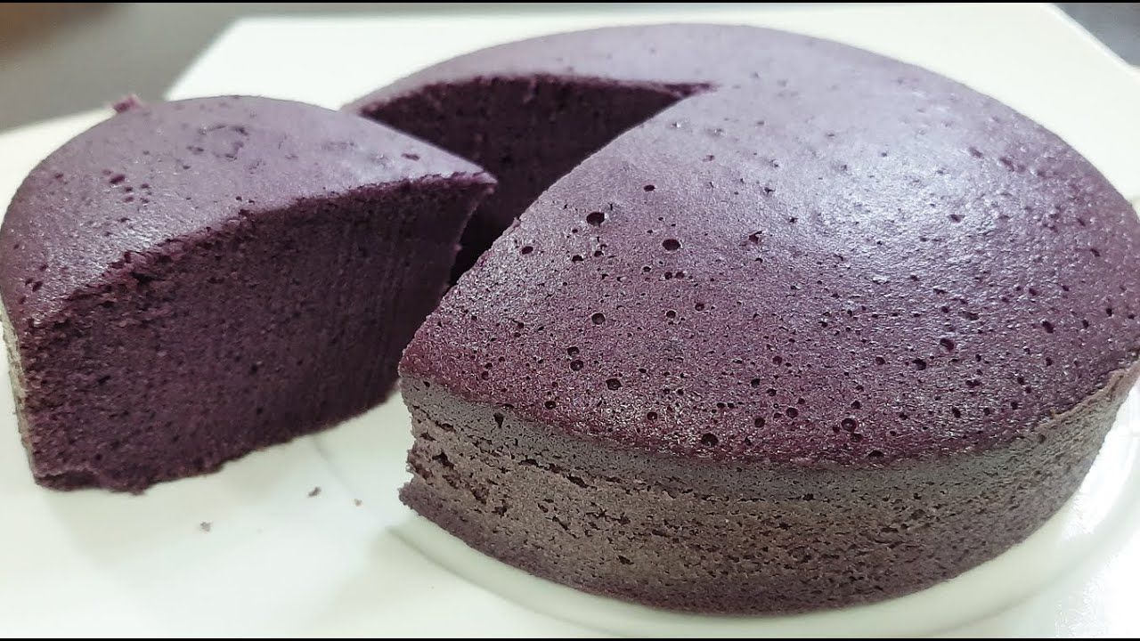 Ube Flavor Condensed Milk Cake Recipe How To Make Condensed Milk Cake In 2020 Condensed Milk Cake Milk Cake Cake Recipes