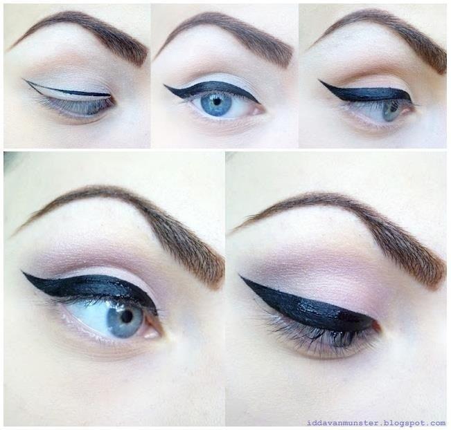 Idda Van Munster Eyes Vintage Makeup Looks Vintage Makeup Makeup