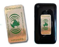 http://www.emf-health.com/rdir-earthcalm-quantumcell.html - EarthCalm Quantum Cell. Contains powerful Living Earth Technology for cell phone radiation protection that's been developed over the last 30 years. Doesn't just block cell phone radiation—it transforms it into a beneficial healing field of protection around you.