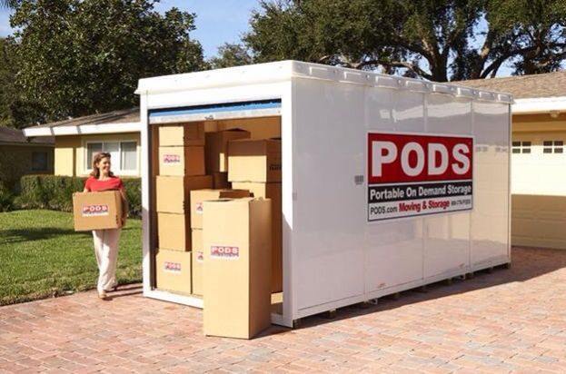 If All You Need Is Moving Labor Help We Do That Too From Brick And Mortar Self Storages To Portable On De Moving Hacks Packing Pods Moving Moving Containers