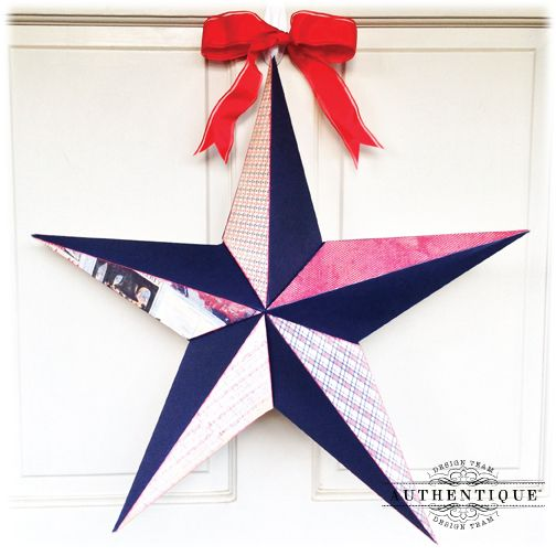 Switch the paper for a Star for anytime of the year!