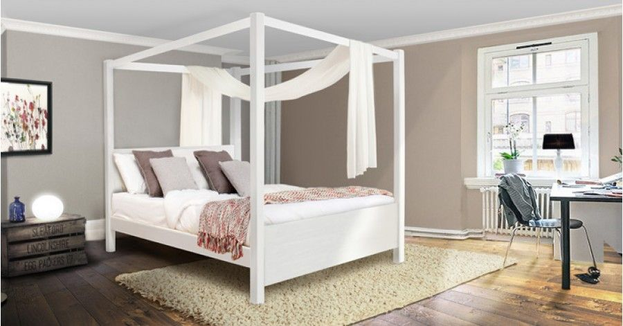 Four Poster Canopy Bed Summer
