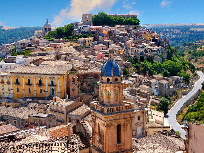 A view of Ragusa Ibla