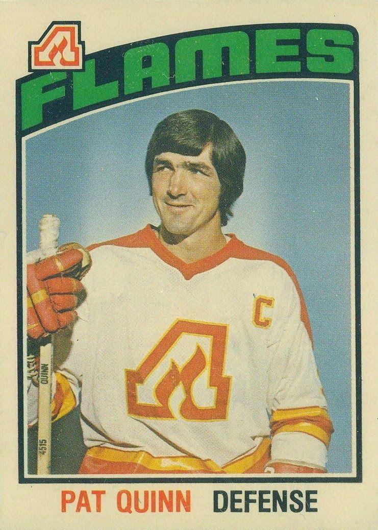 The 4 Captains In Atlanta Flames History Hockey cards