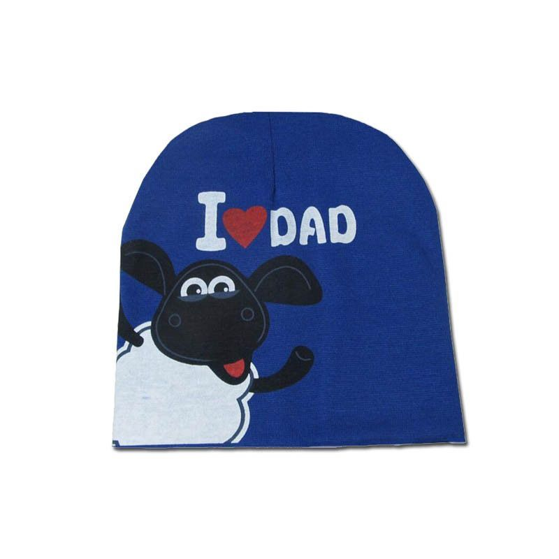 Cute I LOVE MAMA PAPA Baby Hat Kids Cotton Beanie Boy Girl Crochet Bonnet Cap Newborn Props Touca Chapeu Toca Infantil