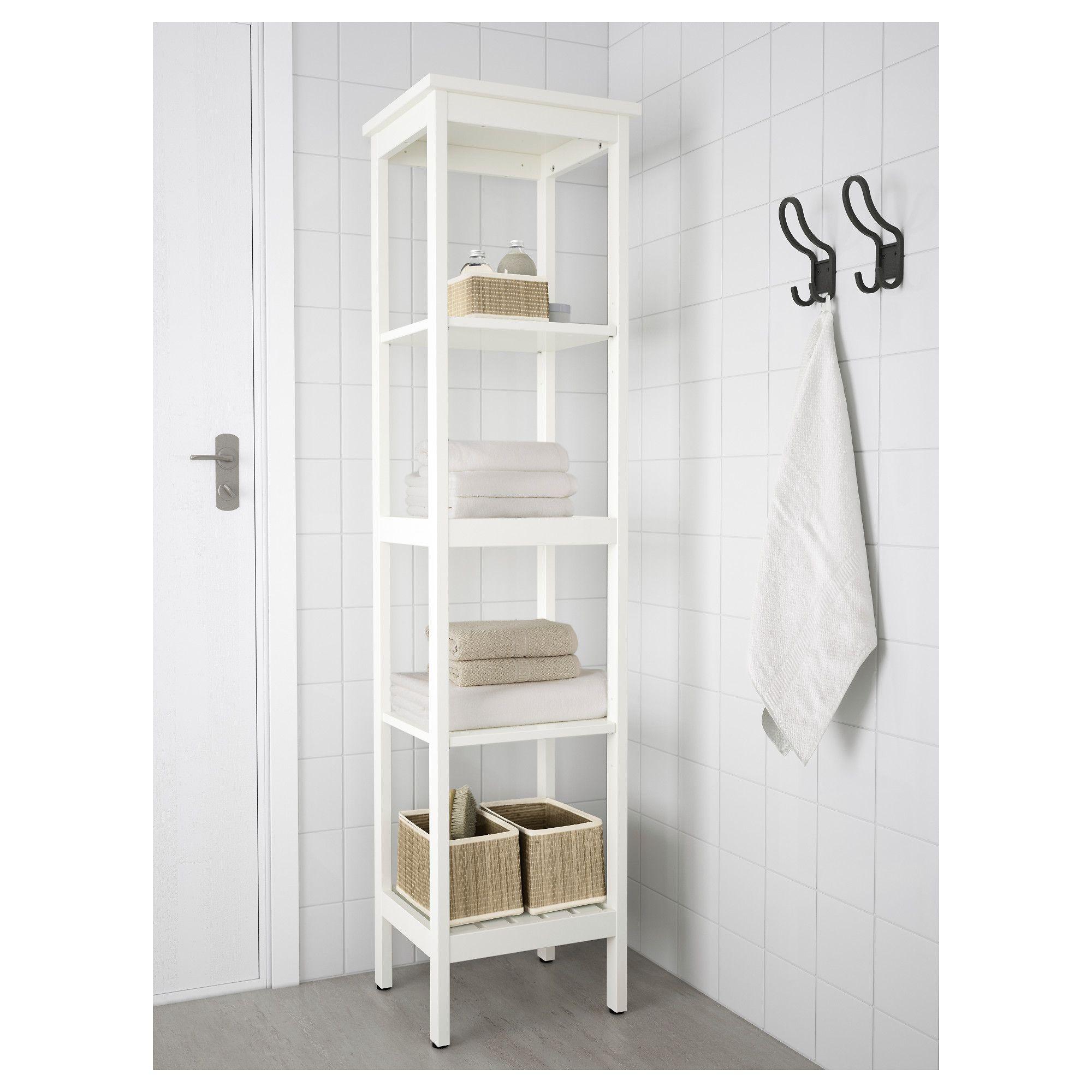 Hemnes Shelf Unit White 16 1 2x67 3 4 42x172 Cm Hemnes Shelves Ikea