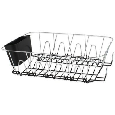 Large Dish Rack In Chrome Bedbathandbeyond Com Dish Racks