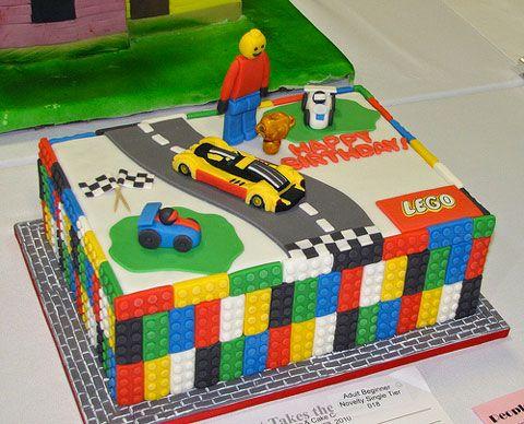 fun – 12 gateaux d'anniversaire en mode lego !   birthday cakes