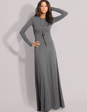 Stylish Muslimah.: Long Sleeve Maxi Dresses - wear with statement ...