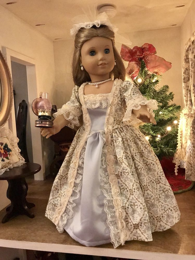 Colonial Ballgown for American Girl Elizabeth