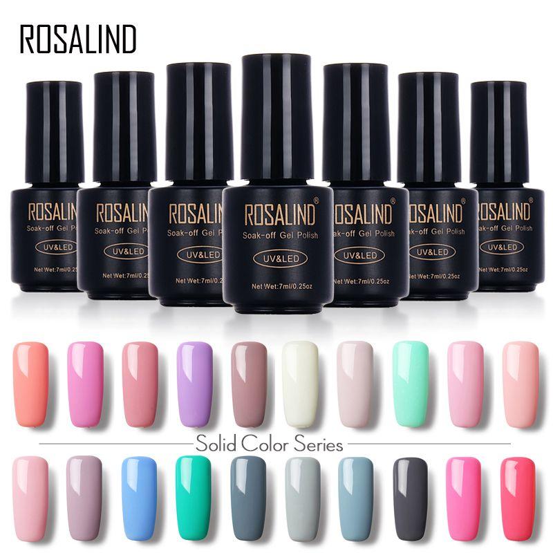 Rosalind 7 Ml Reine Farbe Serie Gel Nagellack 31 58 Gel Lacke