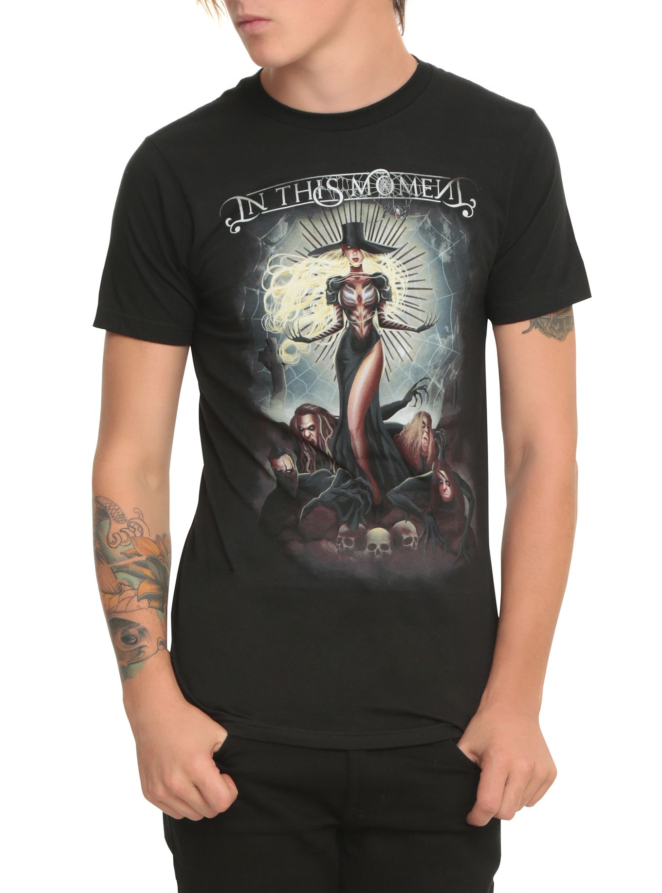 Black widow t shirt hot topic - In This Moment Black Widow T Shirt Hot Topic