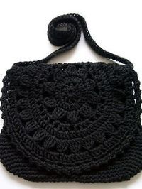 VMSom Ⓐ Koppa: Guaranteed durable bag? No pattern but looks like a round motif sewed as a flap to the purse