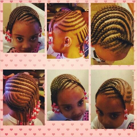 Just A Taste Braids Waterfall To The Side On A 4 Year Old Girl 4 Year Old Girl Old Girl 4 Year Olds