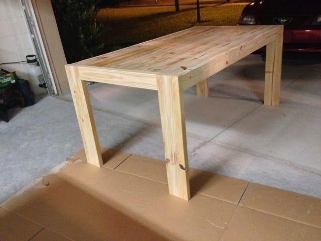 annie a to z: diy modern farmhouse table, inspired by west elm's, Esstisch ideennn