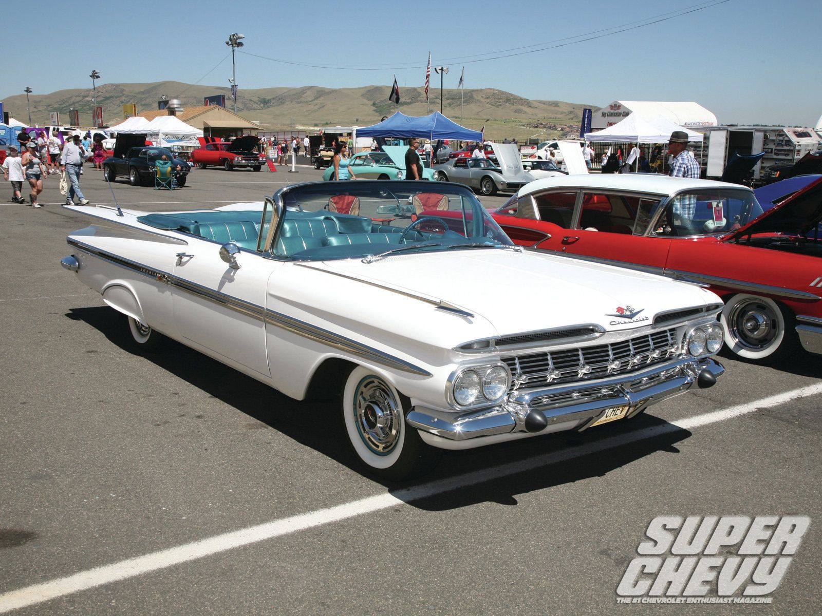 Super Chevy Show Denver 59 Impala Convertible Photo 25 | 1959 chevy ...