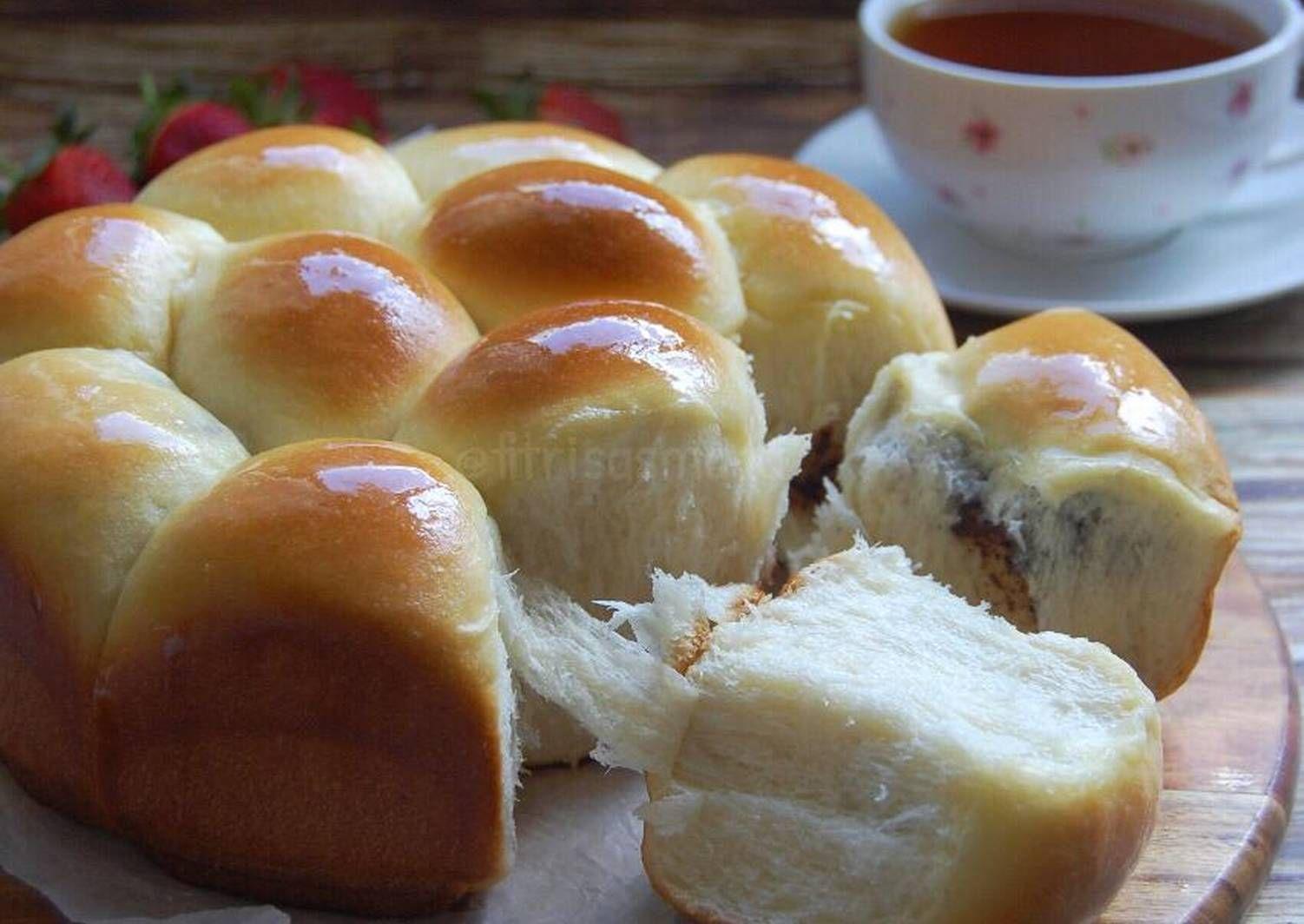 Resep Roti Sobek Ekonomis Satu Telur Lembut Oleh Fitri Sasmaya Resep Resep Roti Rotis Resep Makanan