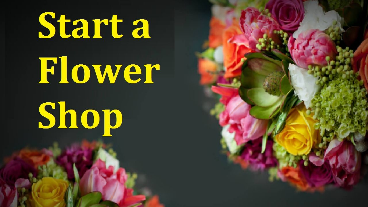 How to Start a Flower Shop Business YouTube Flower