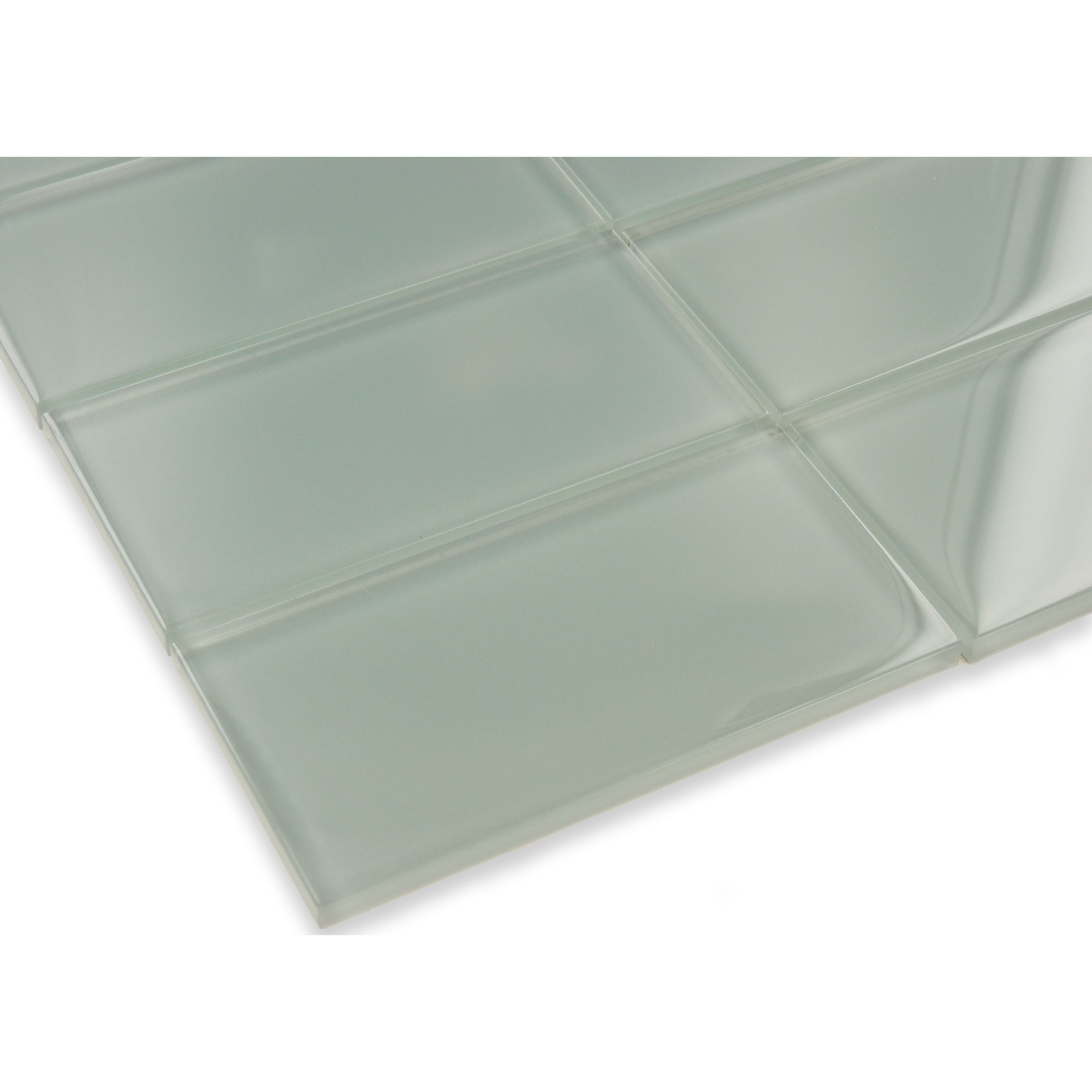 "Sheet size: Approx 1 Sq. Ft.Tile Size: 3"" x 6""Tiles per sheet: 8Tile thickness: 1/4"" Grout joints:1/8"" Sold by the sheet"