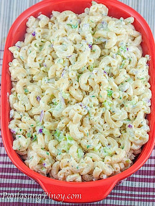 Quick easy recipes pasta salad