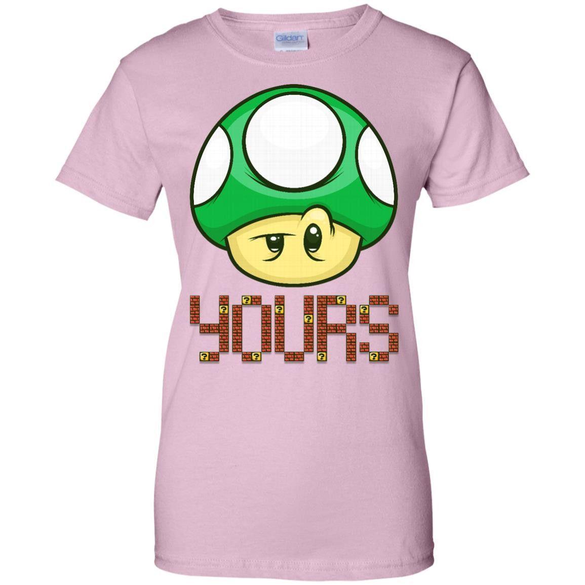 1 UP YOURS BY ARTISTICDYSLEXIA G200L Gildan Ladies' 100% Cotton T-Shirt