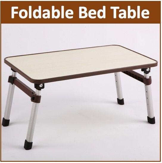 Us 12 61 44 Hush Gecko Foldable Bed Table Study Table Desk Portable Compact Folding Laptop Desk Bed Table Pc Desk Foldable Table