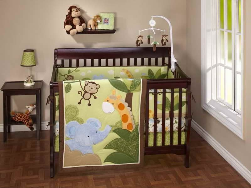 Jungle Baby Room Ideas With Monkey Theme