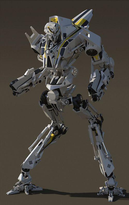 Reverse joint bipedal combat droid | Concept Art ...