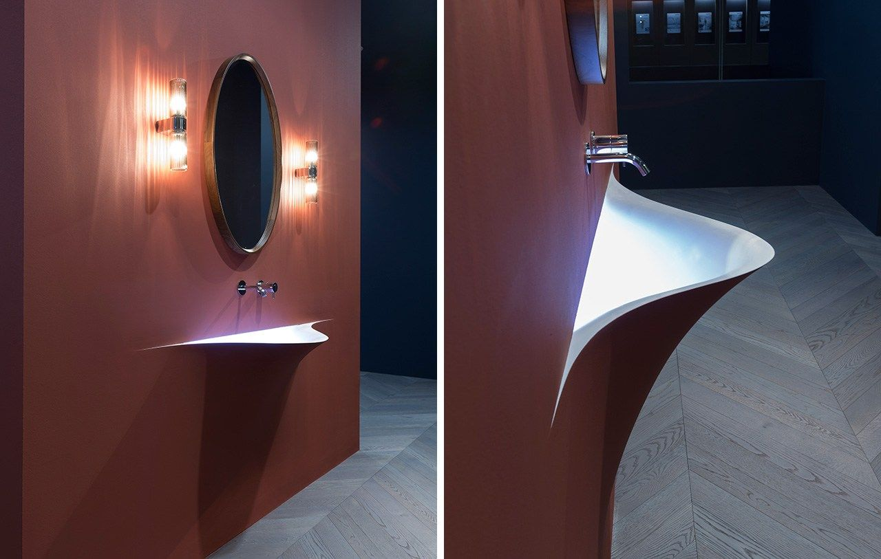 Lavabo in Corian® SILENZIO by Antonio Lupi Design® design Domenico ...