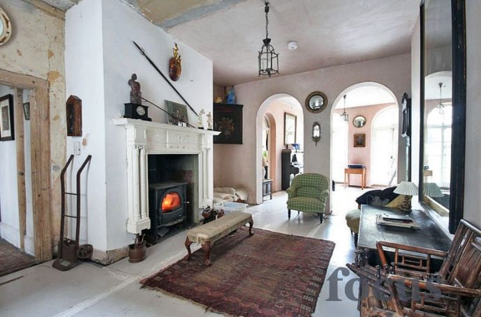 stunning faded grandeur home with artfully distressed interiors and a large walled garden photographic