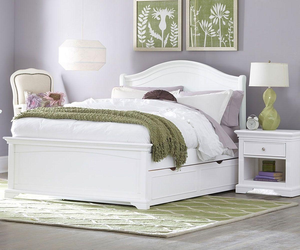 Weiß Full Size Bett Ideen Ausziehbares bett