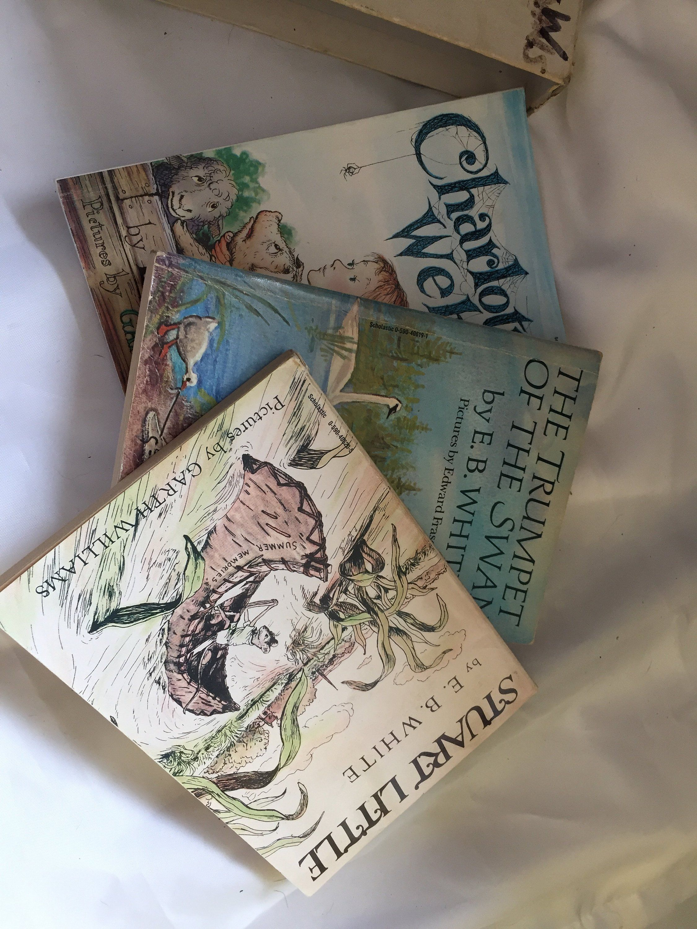 E B White Book Set Collectibles Children S Books Charlotte