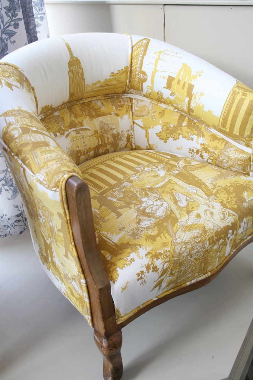 TUB CHAIR UPHOLSTERY: NEW