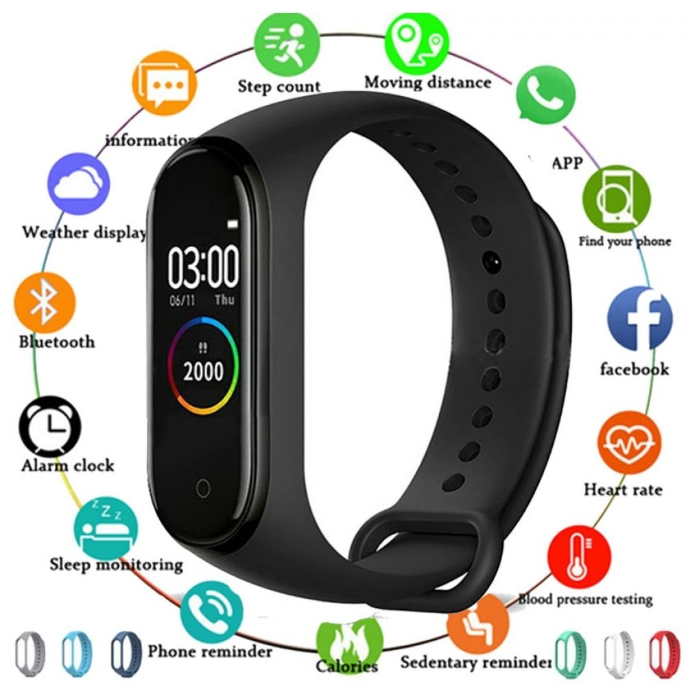 Hot Smartwatch Connect For Apple Xiaomi Huawei Ajorira In 2020 Fitness Tracker Fitness Tracker Heart Rate Smart Band Fitness Tracker