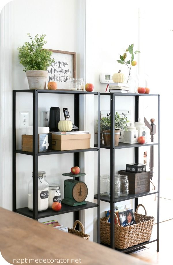 Ikea Shelves Solve an 11 Year Decorating Dilemma