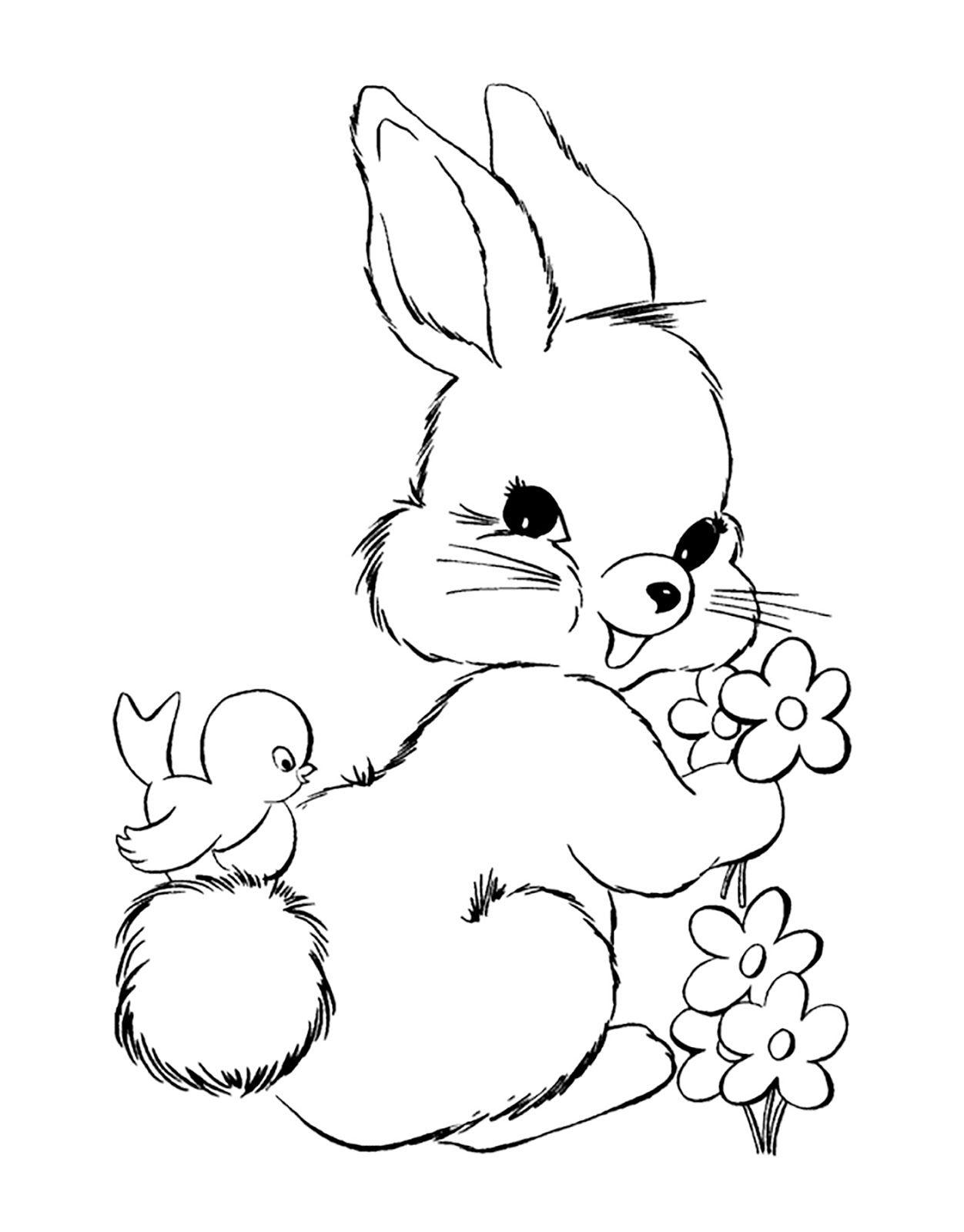HIP HOP DESIGNS.....by Lena Hermansson   Bunny coloring ...