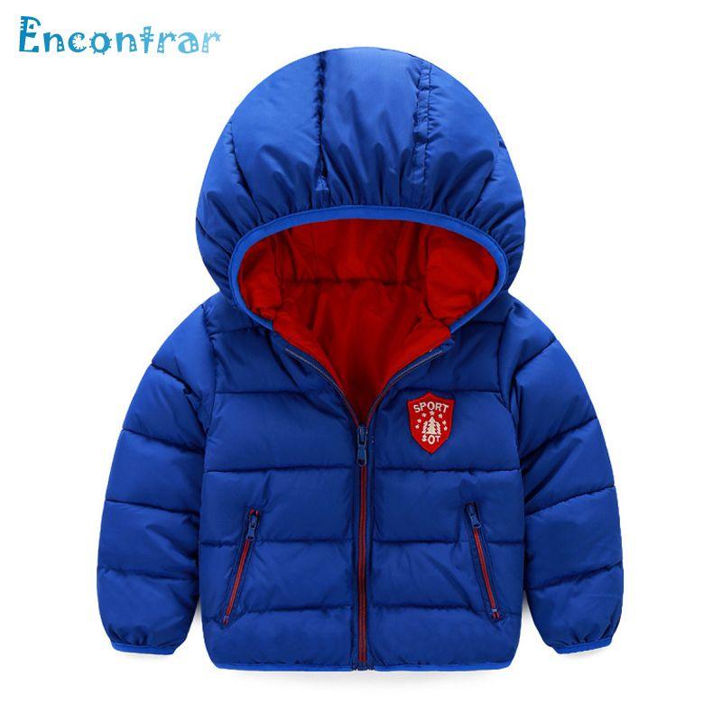 a9690491b Encontrar Winter Cotton Badge Coats for Boys Children s Solid Casual ...