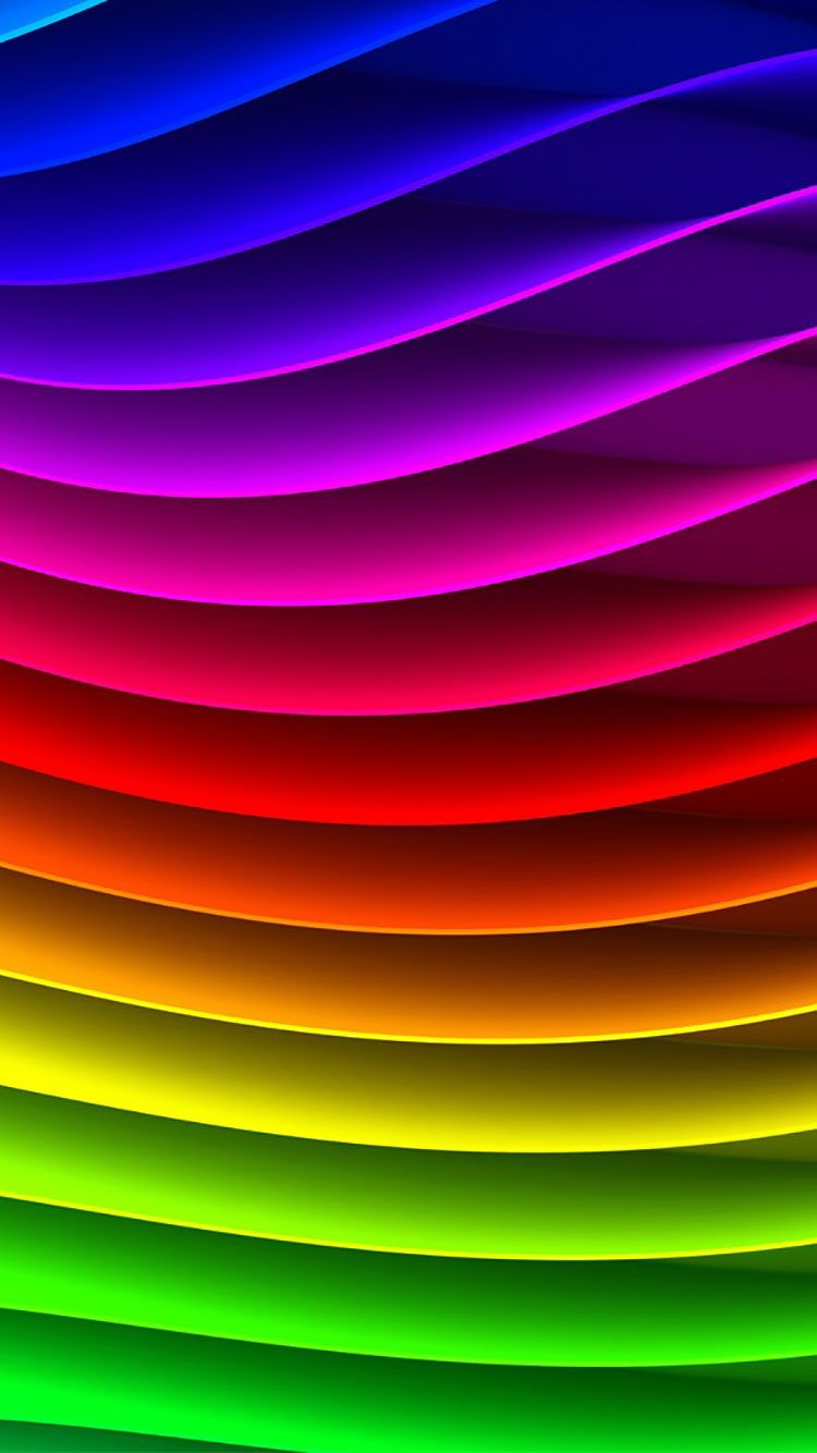 25 Rainbow iPhone Wallpapers