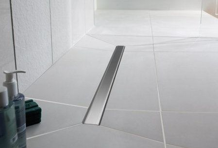 Create a wetroom floor with: #Impey Aqua-Dec Linear 1200x900mm Wet Room Package. Buy Wet Room Flooring from UK Bathrooms www.ukbathrooms.com #wetrooms