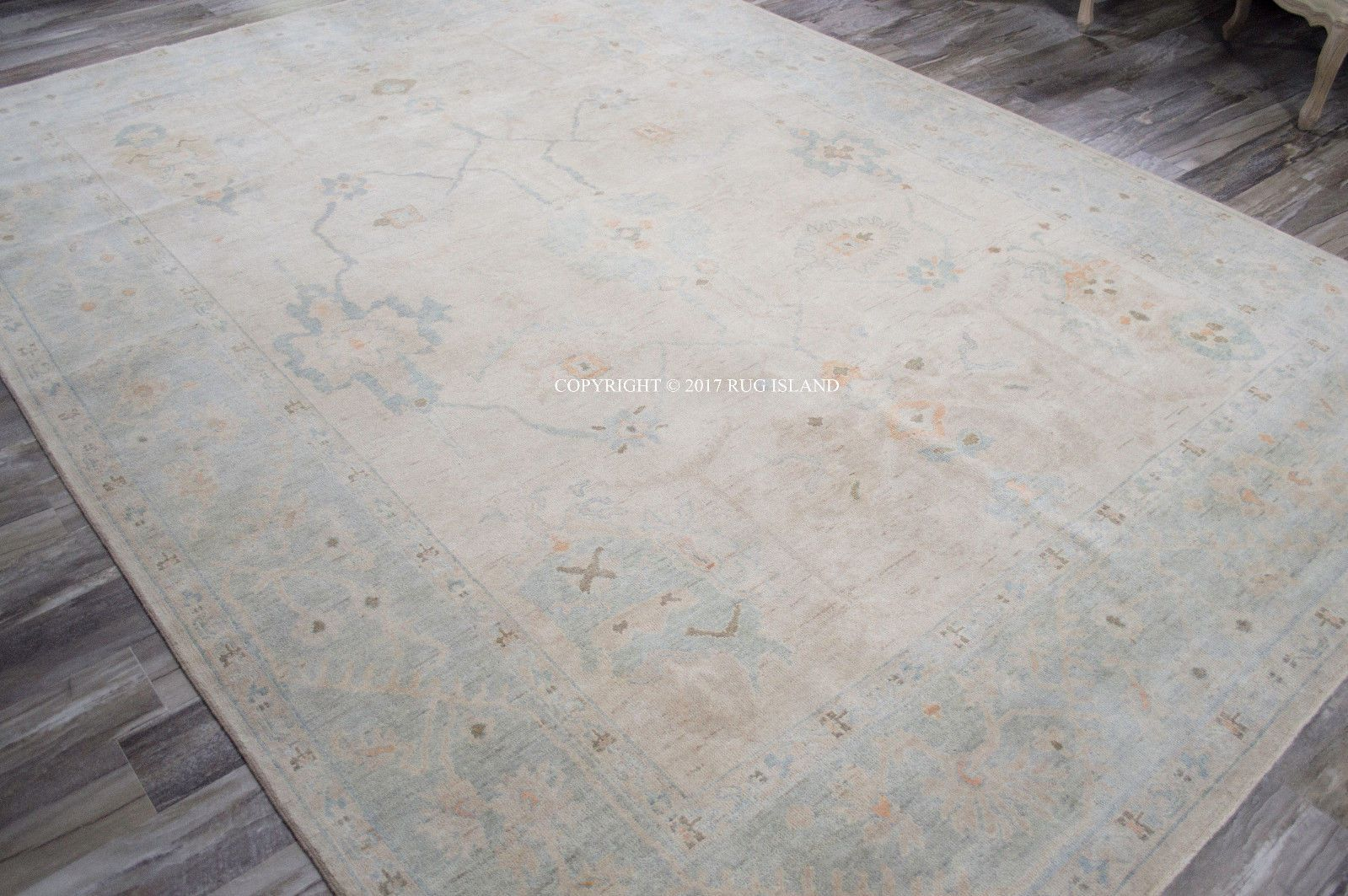 12x15 Oversize Hand Knotted Loloi Vincent Antique Washed Oriental
