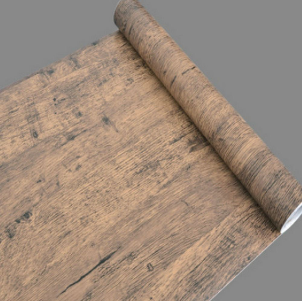 Wood Vinyl Pvc Film Self Adhesive Furniture Restoration Vintage Sticker Craft Uk Wood Grain Wallpaper Contact Paper Wood Wallpaper