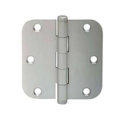 Schlage 3-1/2 in. x 5/8 in. Radius Satin Nickel Round Hinges (3-Pack)-SC3P1011F 619 at The Home Depot