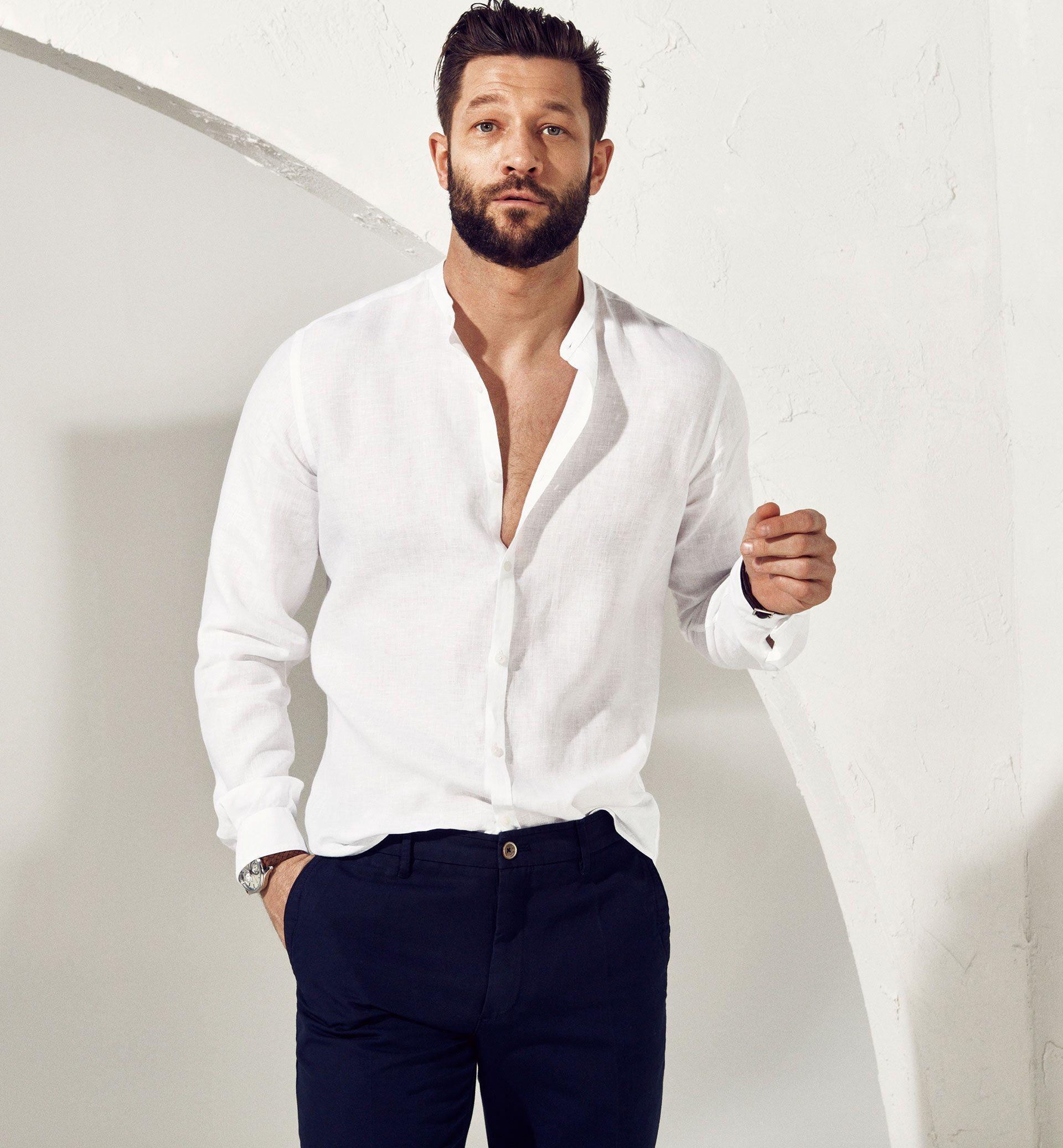 Limited Edition White Linen Shirt Casual Shirts Men Finland Massimo Dutti Estilos De Ropa Para Hombre Ropa De Hombre Camisa De Lino Blanco [ 2074 x 1920 Pixel ]